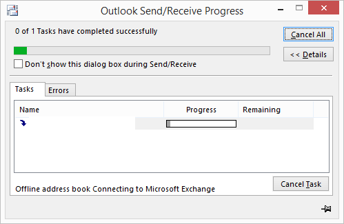 outlook problem email senden