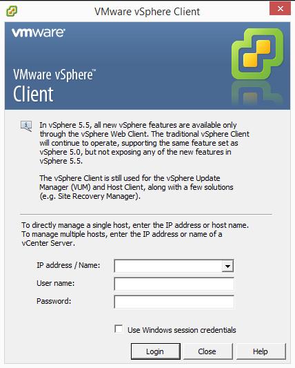 VMwarevSphereClient