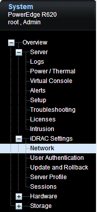 iDRACNetworkSettings